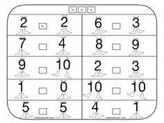 Compararea numerelor. 6 fise, completate si necompletate. – Catalina Bîrsan Printed Pages, Diagram, Math, Blog, Math Resources, Mathematics