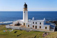 Rua Reidh #Lighthouse - #Scotland © Ernst Erdle - http://dennisharper.lnf.com/