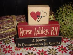A NURSE Is Compassion In Scrubs RN Custom by SimpleBlockSayings, $28.95
