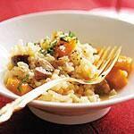 Chestnut Squash Risotto Canadian Living Recipes, Arborio Rice, Truffle Oil, Vegetable Stock, Butternut Squash, Pasta Recipes, Risotto, Appetizers, Nutrition