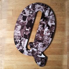 Custom Photo Collage, Letter Photo Collage, Wood Letters, Personal Collage, Photo Collage, Personal Photo Collage, Customized Photo Letters by LybelleCreations on Etsy