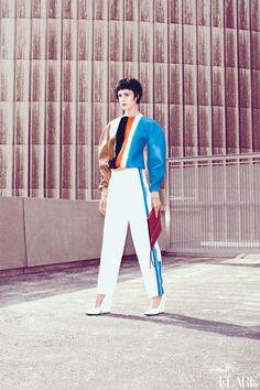 The New Order - October 2012 / Fashion Director: Elizabeth Cabral / Photographer: Chris Nicholls