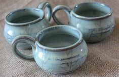 Cappuccino mug, tea cup, 8 oz mug, 240 milliliter, wheel thrown, pottery, made to order