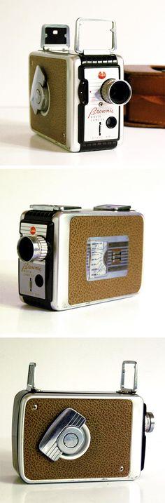 Vintage 8mm Mid-Century Camera with Case | dotandbo.com