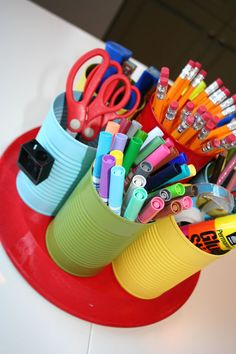 Back to School: Homework Caddy Tutorial - Popsicle Blog