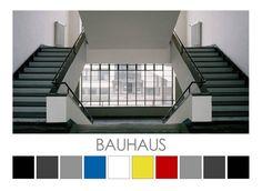 Bauhaus - Design Colour Palettes © Zena O'Connor