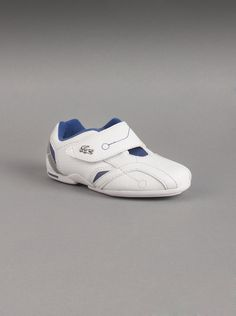 b39fa26f56294a Lacoste® Toddler Protect PT Shoes in White. These white leather shoes by  Lacoste are