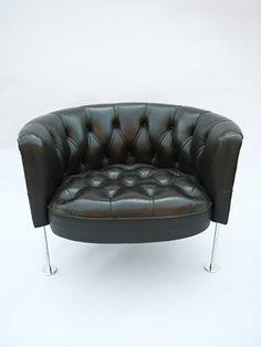 Haussmann Robert and Trix 1957 Easychair RH 310 Vintage Furniture, Furniture Design, Swiss Design, Contemporary Design, Sofas, Love Seat, Upholstery, Couch, Modern