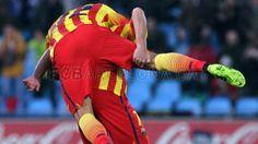 Getafe 2-5 FC Barcelona | Efusividad | FOTO: MIGUEL RUIZ - FCB