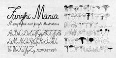 Funghi Mania™ - Webfont & Desktop font « MyFonts