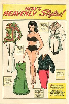 For 1500 free paper dolls Arielle Gabriel's International Paper Doll Society also The China Adventures of Arielle Gabriel Asian paper dolls Comic Book Paper, Comic Books, Famous Superheroes, Millie The Model, Newspaper Paper, Vintage Paper Dolls, Retro Toys, Paper Toys, Paper Crafts