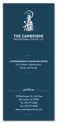 Cambridge:  This is a logo and brochure D23 created.
