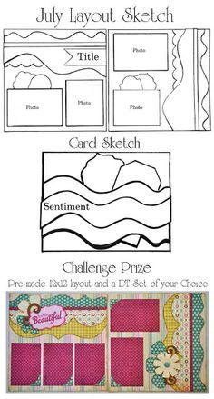 Kiwi Lane: July DT Doodle Challenge