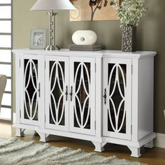 FREE SHIPPING! Shop Wayfair for Wildon Home ® Gasson 4 Door Cabinet - Great Deals on all Furniture products with the best selection to choose from!