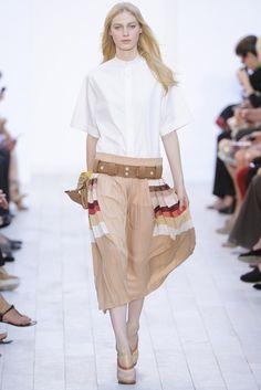 Chloé Spring 2012 Ready-to-Wear Fashion Show - Julia Nobis (Viva)