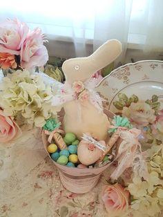 PATTERN~on cd//MY PRIMITIVE SALTBOX//SPRING//rabbit//bunny//egg cart//chick//peep//pt28