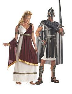 Adult Roman Empress Couple | Wholesale Couples Halloween Costume for Women