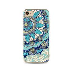 Mandala Soft TPU Phone Cases For iphone 7 Plus 6 6s 5 Creative Mobile Phone Protective Cover