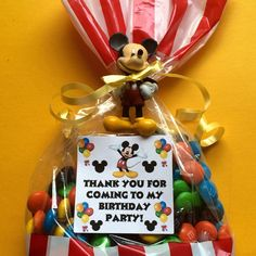 Mickey Mouse Birthday party Favors by angilee123 on Etsy