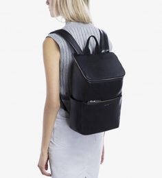 BRAVE - BLACK  For when canvas is a little too casual may I suggest this Matt and Nat bag? It's seriously amazing.