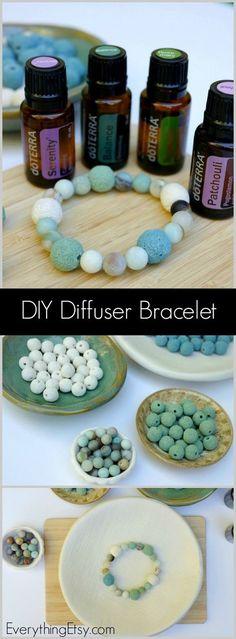 DIY Diffuser Bracelet - doTERRA Essential Oils - EverythingEtsy.com