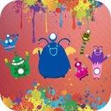 Monster Games - 10 funny aliens and freaky monsters themed games for Preschool and Kindergarten kids