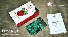 Raspberry Pi WAN Optimization Device