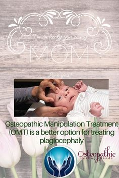 Parents can feel despaired or blame themselves when their babies have plagiocephaly (flat head syndrome), but this is a treatable condition and Osteopathic Manipulation Treatment (OMT) is a gentle was for a doctor to treat your baby.