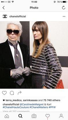 Karl Lagerfeld, Chanel, Tie, Fashion, Moda, La Mode, Cravat Tie, Fasion, Ties