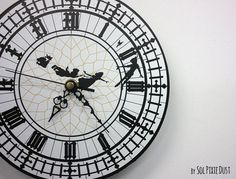 This Peter Pan clock: | Community Post: 21 Nerdy Things You Need For Your Home Right Now