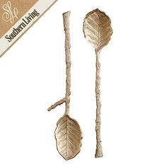 Southern Living Magnolia Branch 2 Piece Serving Set