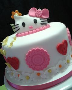 Hello Kitty inspired cake for a young adult!