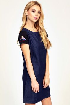 SS14 Jolie Denim Dress - Sugarhill Boutique