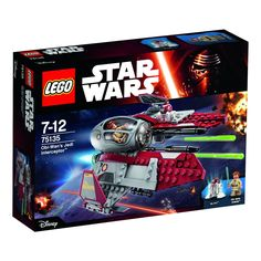 Amazon.com: LEGO Star Wars Obi-Wans Jedi Interceptor 75135: Toys & Games