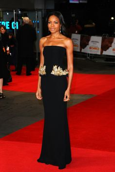 Naomie Harris at the 'Mandela: Long Walk to Freedom' London Premiere | Bustle