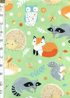Critter Patch Clothworks Organic Fabrics by SunnysideFabrics