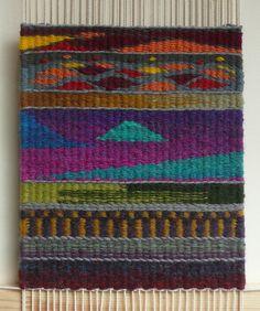 tapestry sampler in progress by lovefibre, via Flickr
