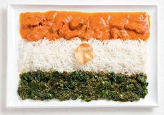 WHYBIN/TBWA created a creative advertising campaign for the Sydney International Food Festival using flags made out of food representing native cuisine for each of the countries. Food Festival, Food Design, Native Foods, Indian Flag, India Food, Thinking Day, Flags Of The World, International Recipes, International Flags