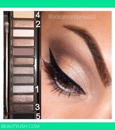 Urban Decay Naked 2 Palette DIY