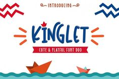 Say Hello . to Newcomers Kinglet/ Cute Font Duo With Extras hi introduce two cute and playful fonts made with handwriting that can meet your design Cute Fonts, Pretty Fonts, Beautiful Fonts, All Fonts, Awesome Fonts, Handwritten Fonts, Typography Fonts, Lettering, Create Font