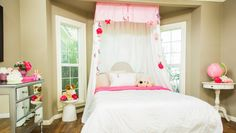 DIY Crib Skirt for Canopy Bed