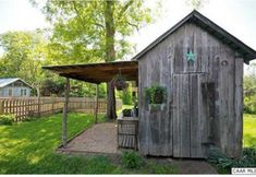 Garden Shed With Porch Gazebo 37 Super Ideas Rustic Shed, Rustic Backyard, Shed Conversion Ideas, Shed With Porch, Home And Garden Store, Old Barn Wood, Weathered Wood, Potting Sheds, She Sheds