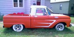 66 Ford Truck Love that flat paint