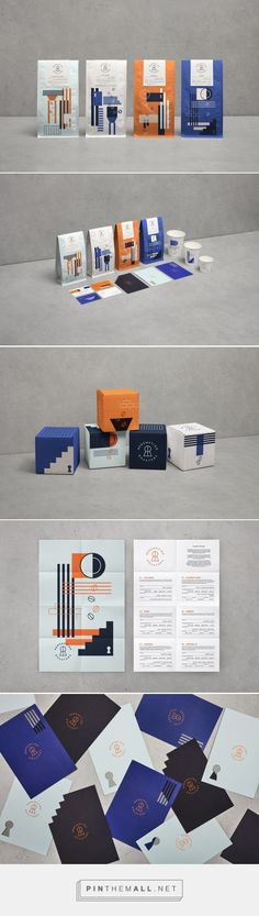 Redemption Roasters coffee - prepared by inmates enrolled in a special training programme - packaging design by Here Design - http://www.packagingoftheworld.com/2017/12/redemption-roasters.html