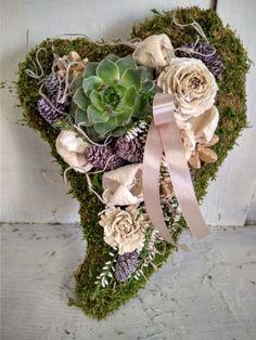 Artificial Flowers, Floral Wreath, Wreaths, Autumn, Diy, Home Decor, All Saints Day, Fake Flowers, Floral Crown
