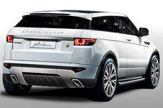 Range Rover Evoque custom    Transition, crossover, performance