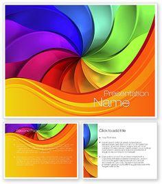 Rainbow Swirl PowerPoint Template #10432 http://www.poweredtemplate.com/10432/0/index.html