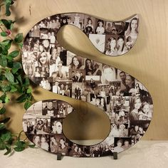 Photo Collage, Photo Letters, Custom Photo Collage, Letter Photo Collage, Personal Collage, Personal Photos, Customized Photo Letters, Art by LybelleCreations on Etsy