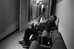 Guy Le Querrec  2001  German jazz musician Peter BRÖTZMAN (saxophones tenor & soprano, clarinet)