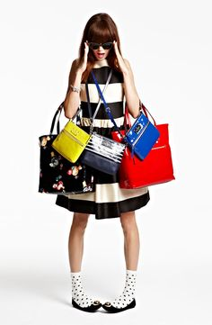 """""""I'm getting carried away with bright colors this season."""" -Deobrah Lippman, kate spade new york Creative Director #Nordstrom #Holiday"""